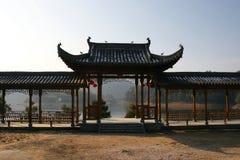 Kinesisk korridor royaltyfria foton