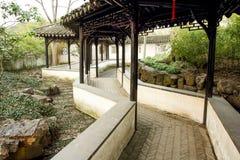 Kinesisk korridor Royaltyfri Foto