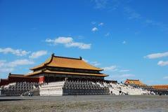 kinesisk korridor Arkivbilder