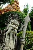 kinesisk krigare royaltyfri foto