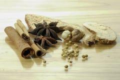Kinesisk kryddablandning Arkivfoton