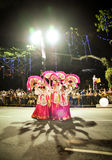 kinesisk kulturell grupp Royaltyfri Bild