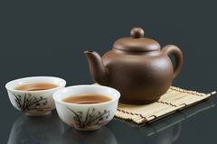 kinesisk kungfutea Arkivfoto