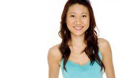 Kinesisk kvinna Arkivfoton