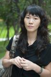 kinesisk kvinna Arkivbilder