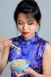 kinesisk kvinna fotografering för bildbyråer