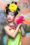 Kinesisk kvinna royaltyfria foton