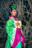 Kinesisk kvinna arkivfoto