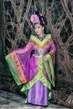 Kinesisk kvinna royaltyfri fotografi