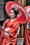 Kinesisk kvinna arkivbild