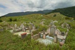 Kinesisk kyrkogård @ Kampar royaltyfri bild