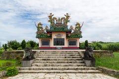 Kinesisk kyrkogård i den Ishigaki ön, Okinawa Japan Arkivfoton