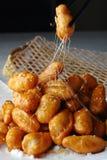 kinesisk läcker matsötpotatis för candied porslin Royaltyfria Bilder