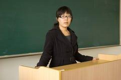 kinesisk lärare royaltyfria bilder