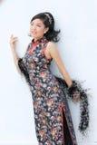 kinesisk lady Royaltyfri Fotografi