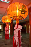 kinesisk lampa royaltyfri fotografi
