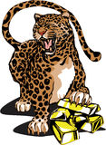 kinesisk leopardstil Royaltyfri Fotografi