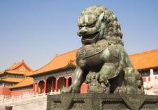 kinesisk lion Royaltyfri Fotografi