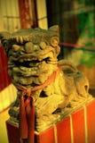 kinesisk lion Arkivbilder