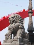 kinesisk lionsten Fotografering för Bildbyråer