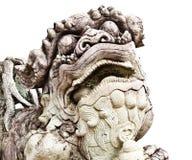 kinesisk lionsten Royaltyfri Bild