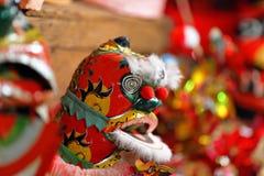 kinesisk liontoy Arkivbild