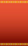 Kinesisk lycklig röd bakgrund Royaltyfri Bild