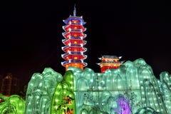 kinesisk lykta Arkivbild