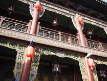 Kinesisk lykta, Kina Arkivbild