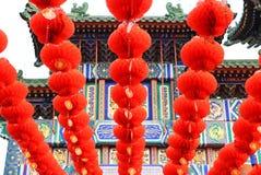 Kinesisk lykta Kina Arkivfoton