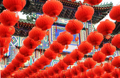 Kinesisk lykta Kina Royaltyfri Foto