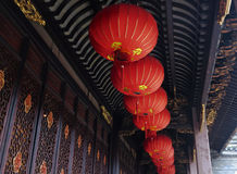 Kinesisk lykta Kina Royaltyfria Bilder