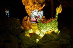 Kinesisk lyktafestival-drake Royaltyfri Bild
