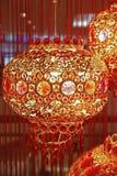 Kinesisk lyktagarnering för nytt år Royaltyfri Bild