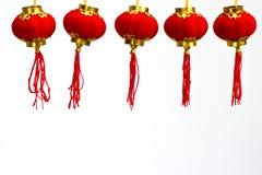 kinesisk lyktapappersred Royaltyfri Foto