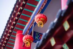 kinesisk lyktared Arkivbild