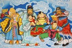 kinesisk målning Arkivfoto