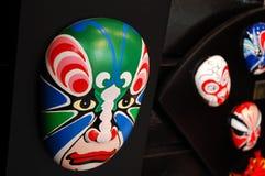 kinesisk makeupscenisk Arkivfoto