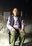 kinesisk manpensionär Royaltyfri Foto