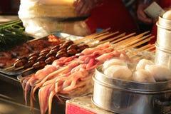 kinesisk marknad royaltyfri foto
