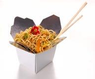 kinesisk mat Arkivbilder