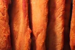 Kinesisk mat, grillat rött griskött, asiatisk kokkonst Fotografering för Bildbyråer