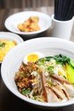 Kinesisk mat, nudel Arkivbilder