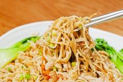 Kinesisk mat --Nudlar Royaltyfri Bild