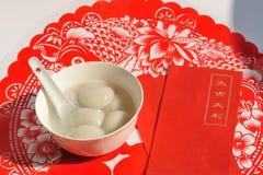 Kinesisk mat, tangyu Arkivbild