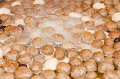 kinesisk meatball Royaltyfri Bild