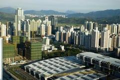 kinesisk metropolis royaltyfria foton