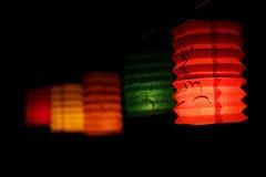 Kinesisk mitt- höstfestivallykta Royaltyfri Bild