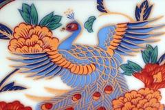 kinesisk modell Arkivbilder