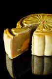 Kinesisk Mooncake Arkivfoto